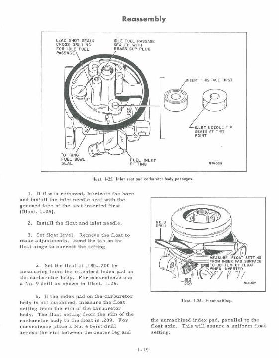 Cub Cadet Model 60 Riding Mower Service Manual