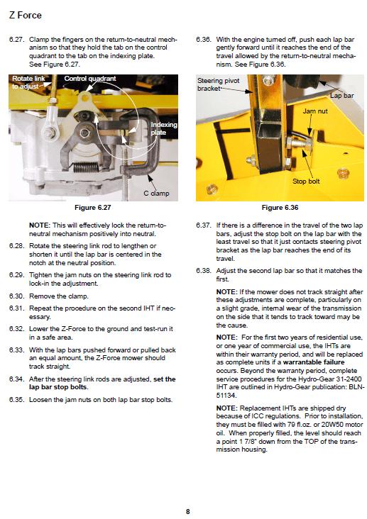 Cub Cadet Z-force Series (2003-2006) Service Manual