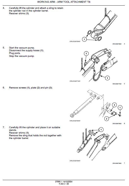 Case Cx135sr Excavator Service Manual