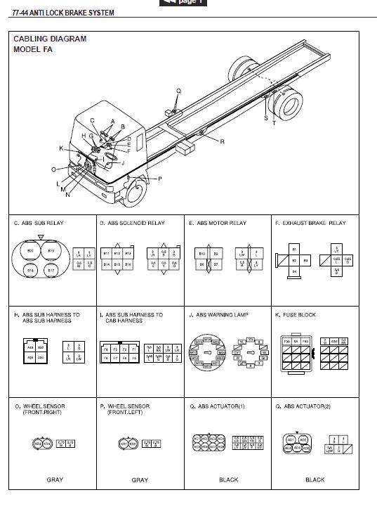 Hino Truck 2001 Service Manual