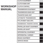Hino Truck 2017 Conventional Service Manual