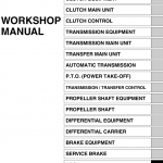 Hino Truck 2010 Service Manual
