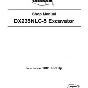 Doosan Dx235nlc-5 Excavator Service Manual