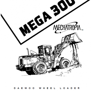Daewoo Mega M300-iii Wheel Loader Service Manual