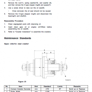 Doosan Dx35z Excavator Service Manual