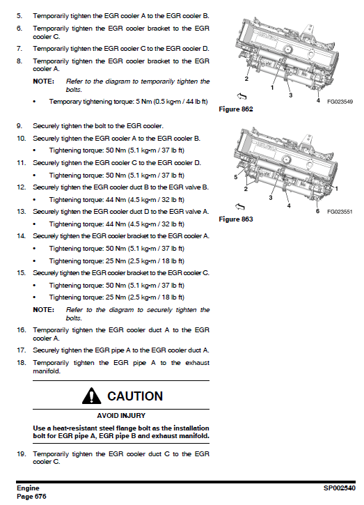 Doosan Dx490lc-3 And Dx530lc-3 Excavator Service Manual