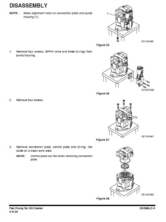 Doosan Dx300lc-5 Excavator Service Manual