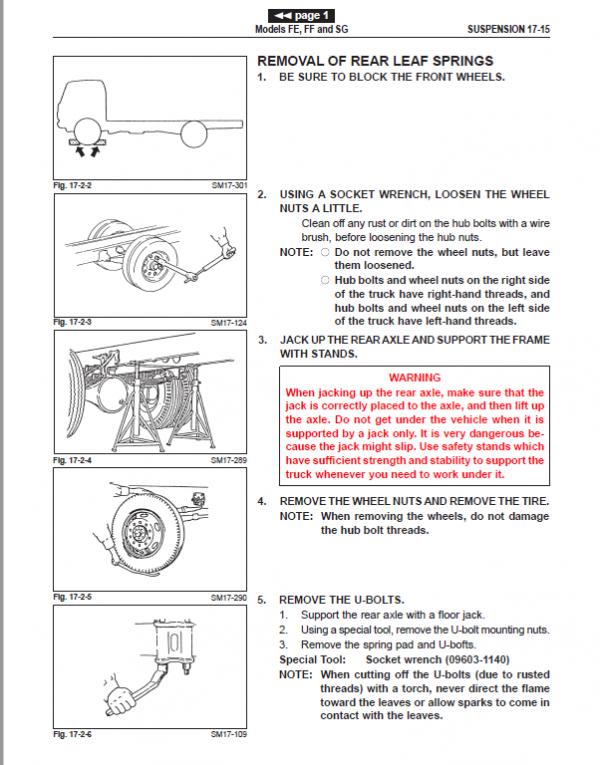 Hino Truck 2002 Service Manual