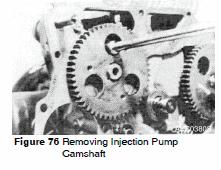 Doosan DX15 and DX18 Camshaft removal
