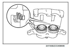 Hino COE 2015 Truck Disc Brake