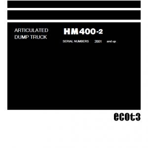 Komatsu Hm400-2 Dump Truck Service Manual
