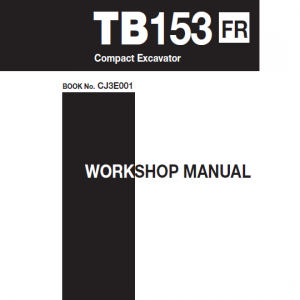 Takeuchi Tb153 Compact Excavator Service Manual