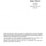 Daewoo Solar S175LC-V Excavator Service Manual