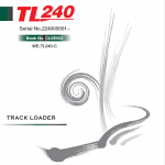 Takeuchi Tl240 Loader Service Manual