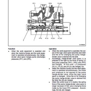Komatsu Pc45mr-3, Pc55mr-3 Excavator Service Manual