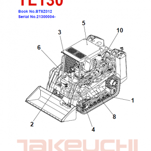 Takeuchi Tl130 Loader Service Manual