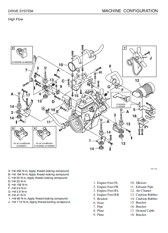 Takeuchi Tl140 Loader Service Manual