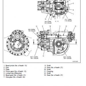 Komatsu Hm300-1 Dump Truck Service Manual