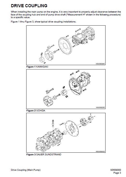 Daewoo Solar S330lc-v Excavator Service Manual