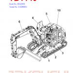 Takeuchi Tb1140 Compact Excavator Service Manual
