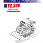 Takeuchi Tl250 Compact Loader Service Manual