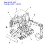 Takeuchi Tb025, Tb030 And Tb035 Excavator Service Manual