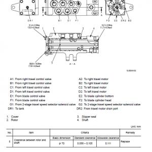Komatsu Pc78uu-6, Pc78us-6 Excavator Service Manual