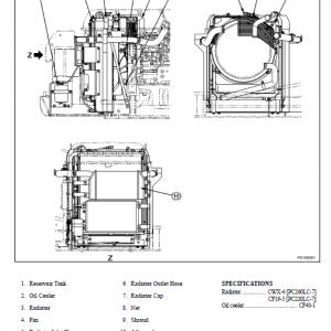 Komatsu Pc200lc-7l And Pc220lc-7l Service Manual