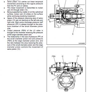Komatsu Pc200-8, Pc200lc-8, Pc240lc-8 Excavator Service Manual