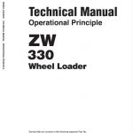 Hitachi ZW330, ZW330-6 Wheel Loader Service Manual