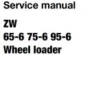 Hitachi Zw65-6 , Zw75-6, Zw95-6 Wheel Loader Service Manual