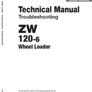 Hitachi Zw120-6 Wheel Loader Service Manual