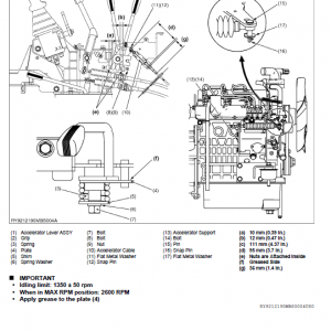 Kubota K018-4 Excavator Workshop Service Manual