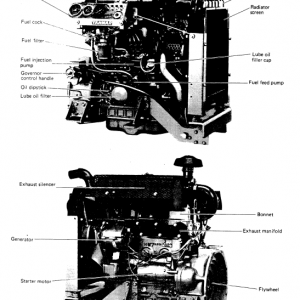 Komatsu 72-2, 75-2, 78-1, 84-2 Series Engine Manual