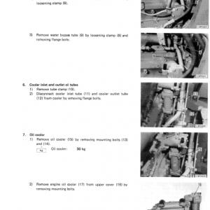Komatsu D60a-6, D60p-6, D65a-6, D65p-6 Dozer Service Manual