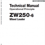 Hitachi Zw250-6 Wheel Loader Service Manual