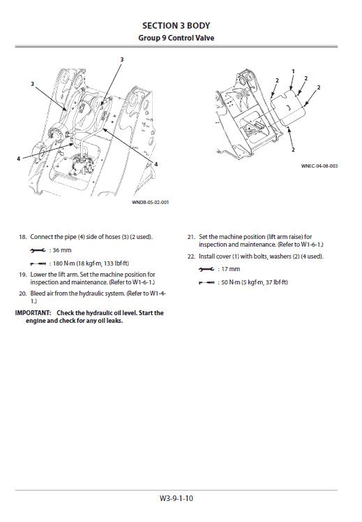 Hitachi Zw220-5a, Zw220-5b Wheel Loader Service Manual