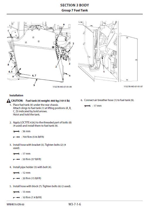 Hitachi Zw550-6 Wheel Loader Service Manual