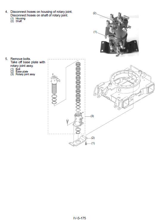 Kubota Kx36-3, Kx41-3s, Kx41-3v Excavator Workshop Manual