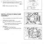 Komatsu Pw150es-6k Excavator Service Manual