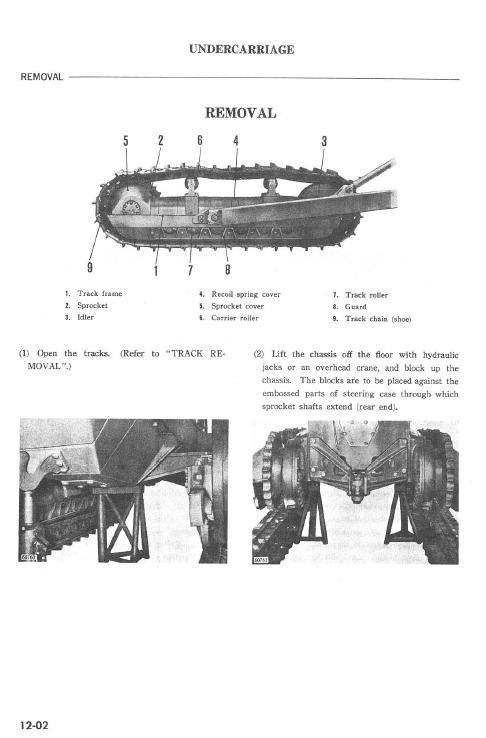 Komatsu D80a-12, D85a-12 Dozer Service Manual