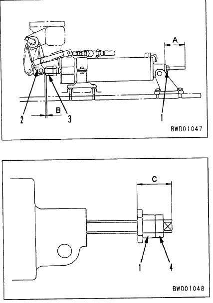 Komatsu D155A-2 Dozer spring brake