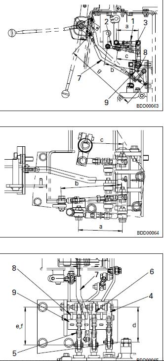 bulldozer D41E-6, D41P-6