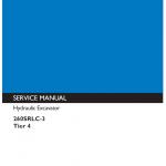 Kobelco 260srlc-3 Tier 4 Excavator Service Manual