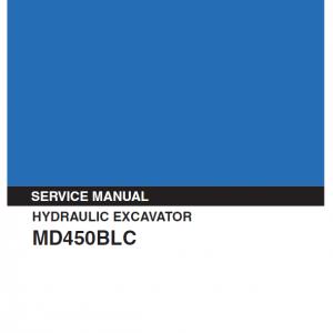 Kobelco MD450BLC Excavator Service Manual