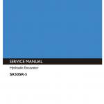 Kobelco Sk170-9 Excavator Service Manual