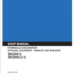 Nibbler & Breaker SK200-3 SK200LC-3