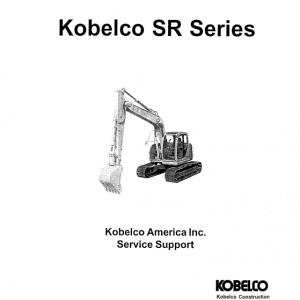 Kobelco SR70, SR115, SR135, SR200, SR235 Excavator Service Manual