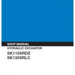 Kobelco Sk115srdz And Sk135srlc Excavator Service Manual