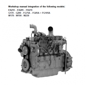 Cummins Series C Engine Workshop Service Manual